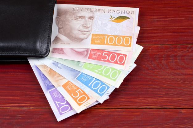 valiutos kursas švedijos karūna